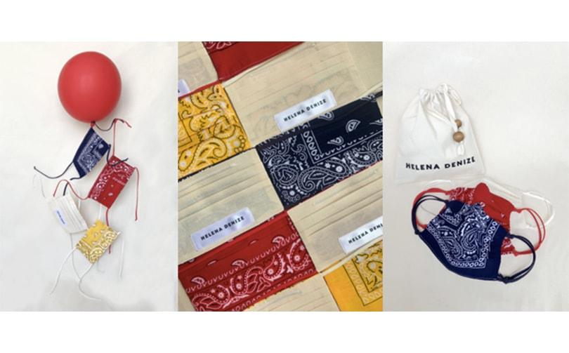 Communiqué de presse | Héléna Denize s'engage dans la lutte contre le Covid-19 en proposant des masques en tissu pour ses clientes