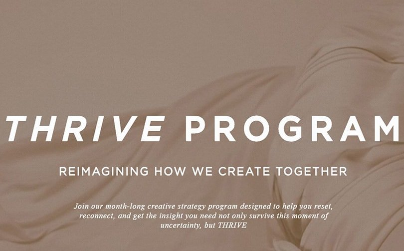 Réinventer la créativité avec le programme Fashion Snoops Thrive