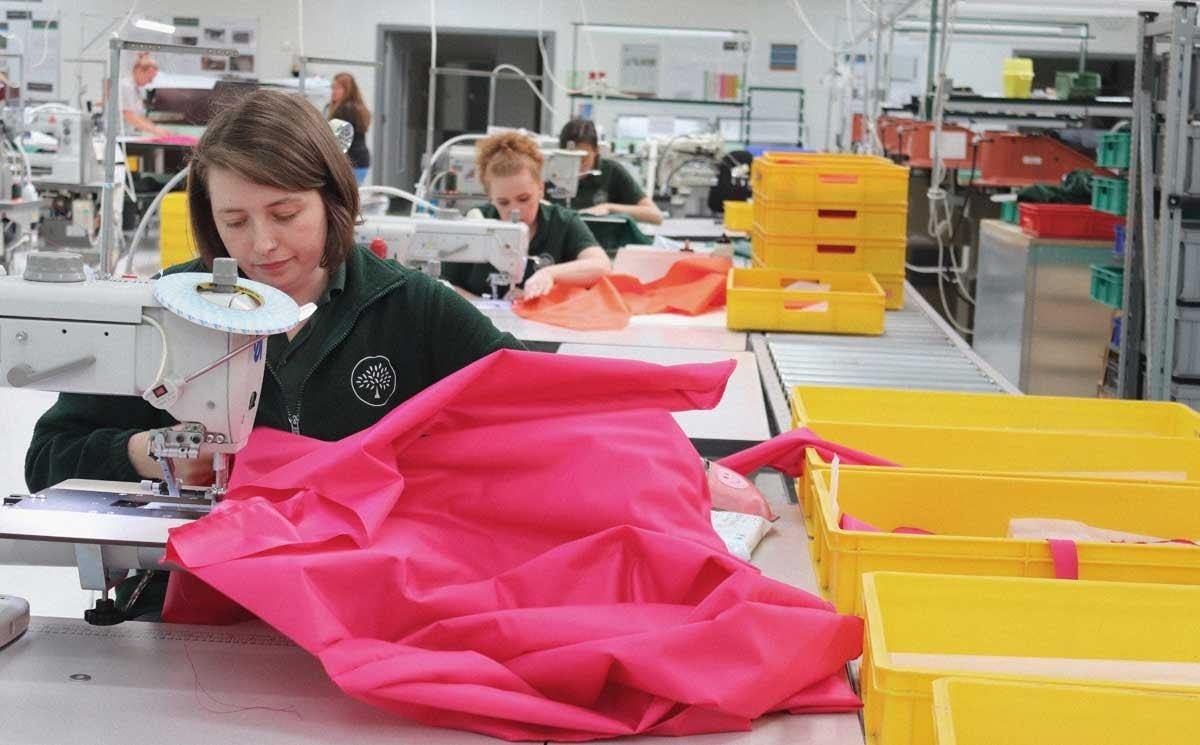 """Quelle """"opportunité"""" offre la crise aux entreprises textile ?"""