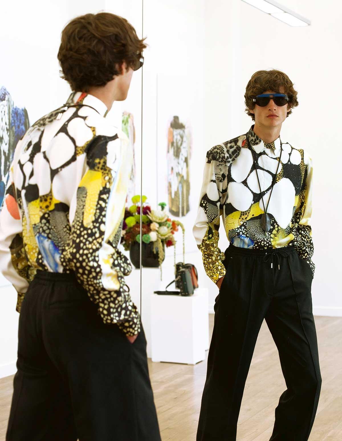 """Fashion Week homme : la """"gifle joyeuse"""" de Berluti"""