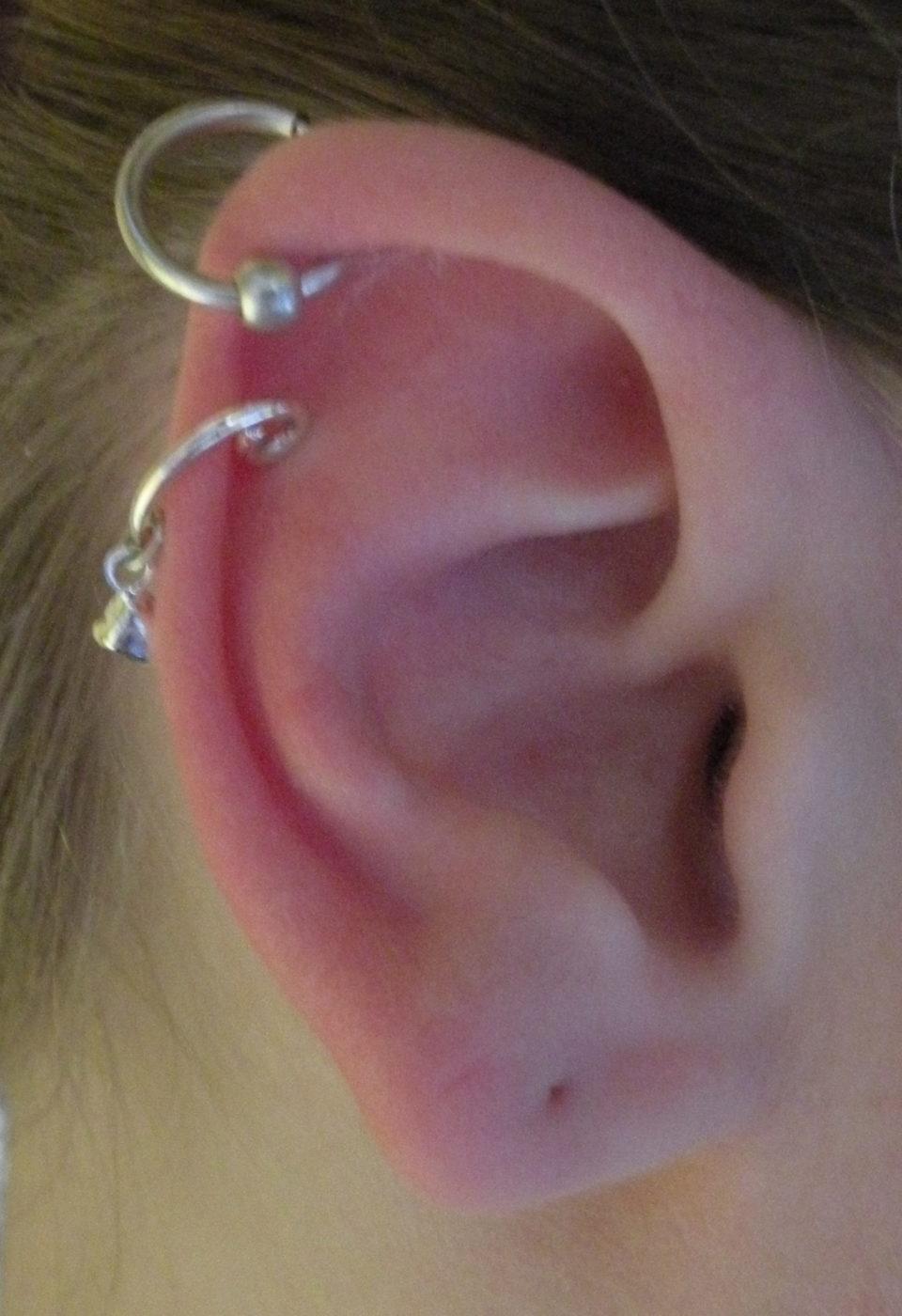 piercing aux oreilles