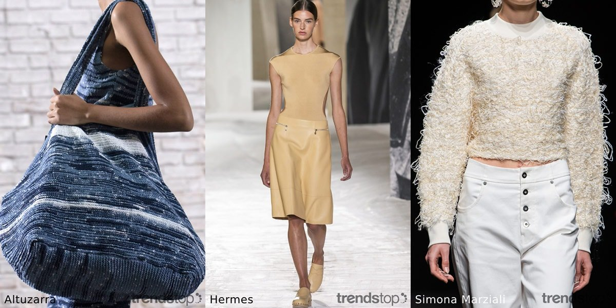 Les tendances de tissus chez les femmes pour la saison printemps-été 21