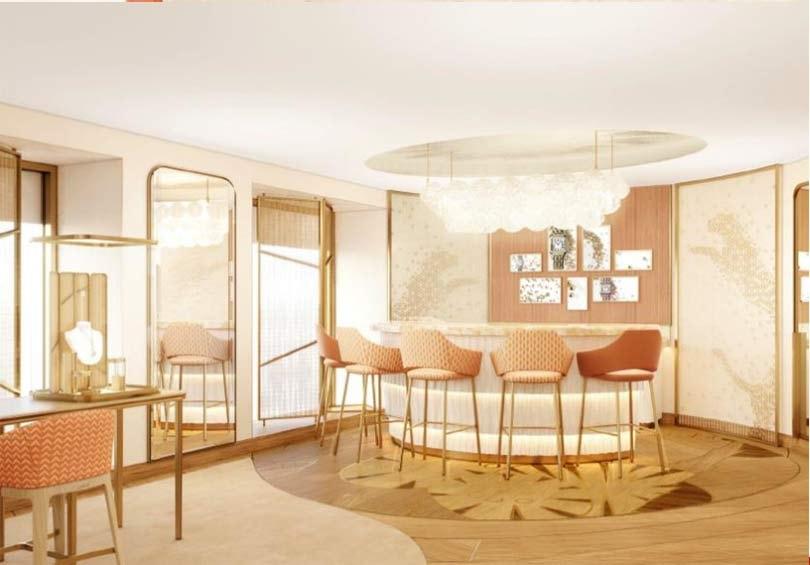 Cartier métamorphose sa boutique du Faubourg-Saint-Honoré