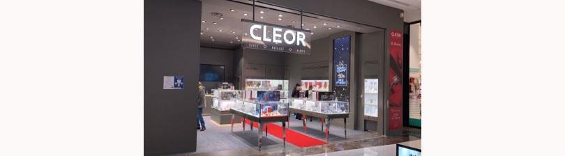 L'enseigne de bijoux et montres multimarques CLEOR s'installe dans 4 centres de shopping Unibail-Rodamco-Westfield