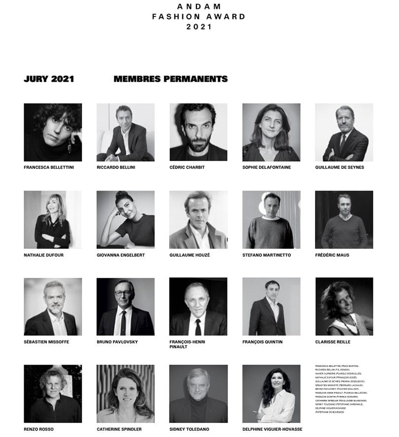 L'Andam annonce son jury pour l'édition 2021