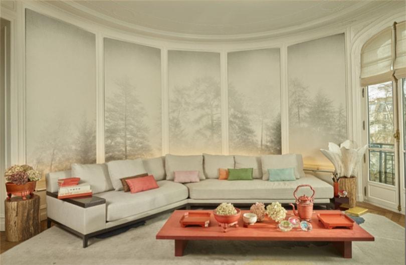 Artcurial va disperser le décor de la dernière demeure parisienne de Kenzo