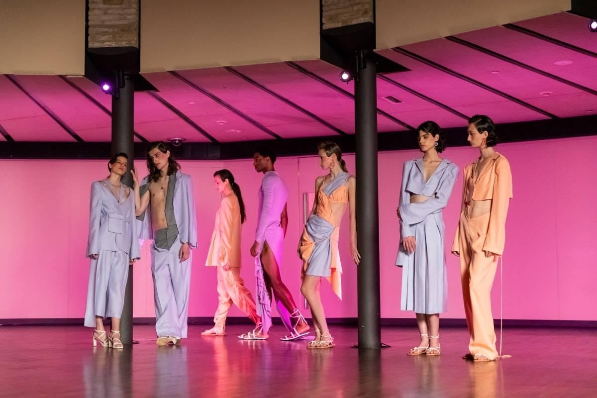 080 Barcelona Fashion: Fashion and architecture at La Pedrera