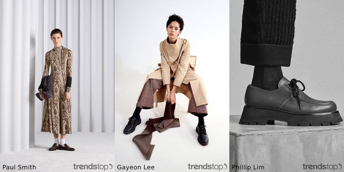 Automne-hiver 2021 : tendances en matière de chaussures pour femmes