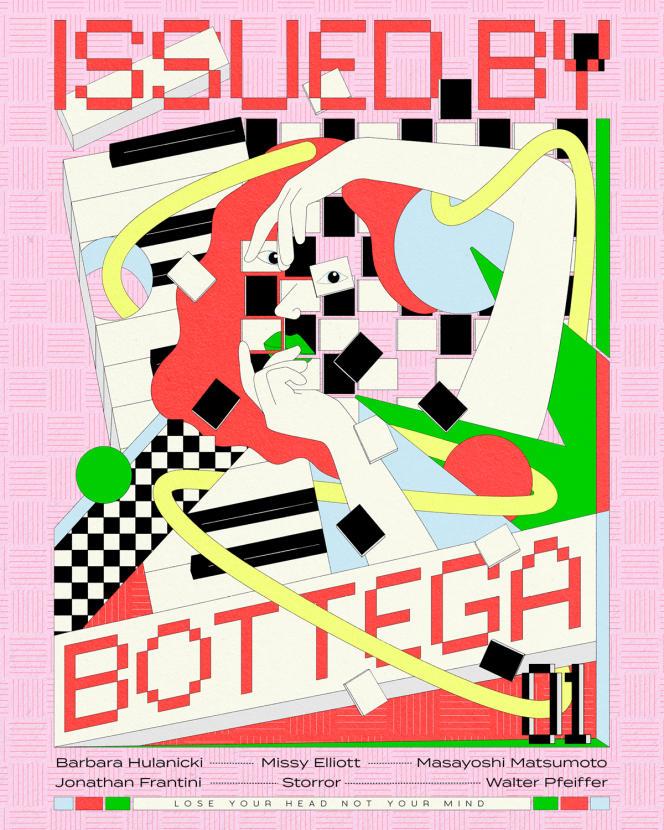 Premier numéro du magazine numérique «Issued by Bottega», mis en ligne le 31 mars.