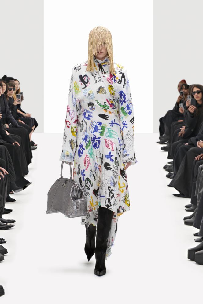 Balenciaga Spring 22.