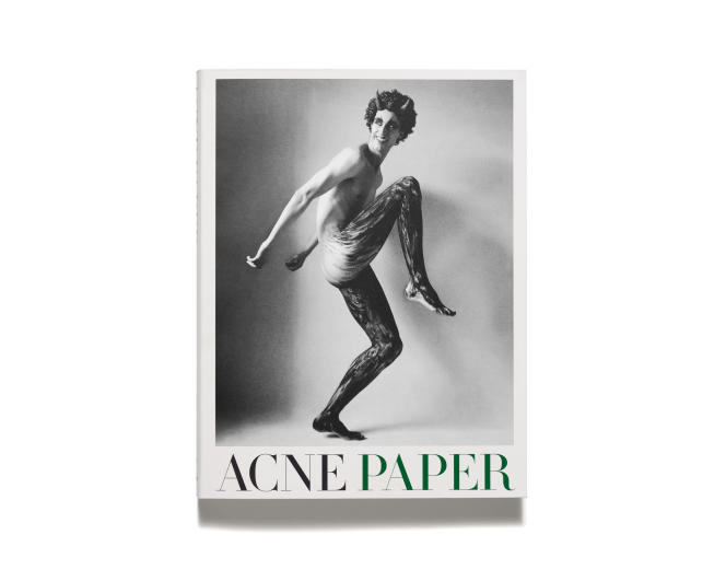 «Acne Paper Book», couverture photographiée par Christopher Smith.
