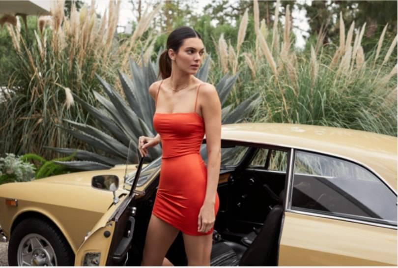 La plateforme allemande About You réalise une collection avec Kendall Jenner