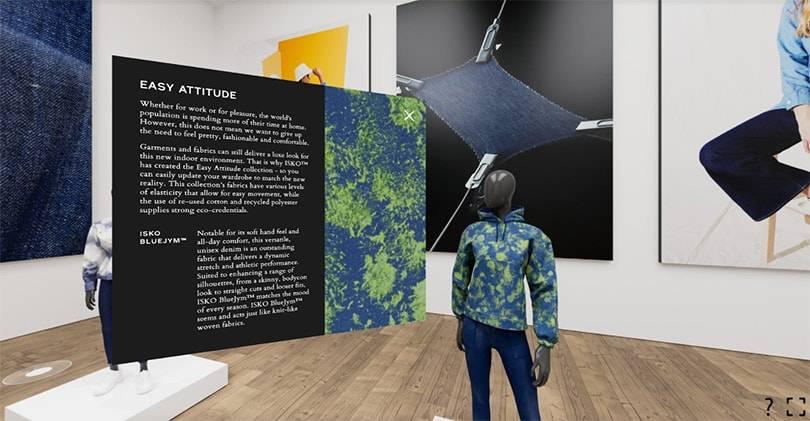 ISKO lance un showroom virtuel qui préfigure l'avenir de l'industrie